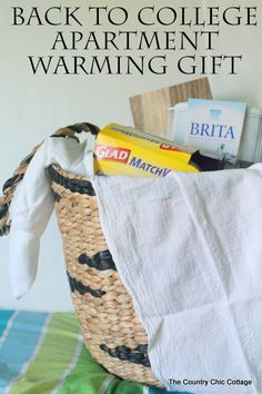 Apartment warming gifts on pinterest first apartment for Gifts for first apartment
