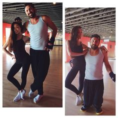 Maks being cute & funny during Wk1 rehearsals