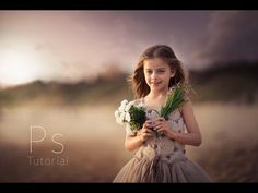 Photoshop cc Tutorial : Outdoor Portrait Edit (Beach edit) - YouTube