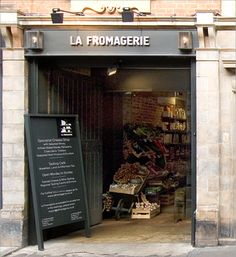 La Fromagerie | London @Nerima Gryba.... The cheese store is real!! Where's Cory?!
