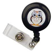 Pop Eyes Retractable Badge Holder Ollie Owl Scrub Stuff $3.60