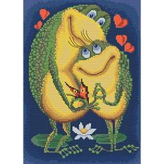 This is Love Cross Stitch Kit Embroidery Kits, Beaded Embroidery, Funny Scenes, Cross Stitch Art, This Is Love, Flower Of Life, Plastic Canvas, Seed Beads, Giraffe