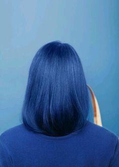 There is 0 tip to buy hair accessory, blue hair, hair dye, blue. Hair Color Blue, Green Hair, Lilac Hair, Navy Blue Hair, Blue Green, Coloured Hair, Dye My Hair, Rainbow Hair, Short Hairstyles