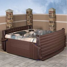 lg vienna spa tubs saratoga the hot patio overhead and of tub at spas champion