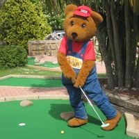 Go Crazy on the Golf Course at Beverley Holiday Park, Paignton, South Devon