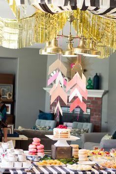 bridal shower decor ideas / reality and retrospect