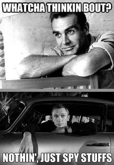 James Bond - www.funny-pictures-blog.com
