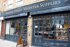 Hoxton Street Monster Supplies in London.