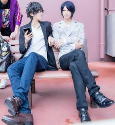 Persona Ren and Yusuke Cosplay Persona Five, Persona 5 Joker, Amazing Cosplay, Best Cosplay, Persona 5 Cosplay, Ren Amamiya, Shin Megami Tensei Persona, Akira Kurusu, Cosplay Anime