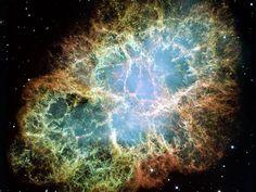 M1, la nébuleuse du Crabe vue par le télescope spatial Hubble