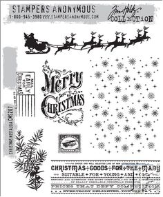I NEED THIS!!!!!!!! Stamper anonymous christmas tim holtz 2014
