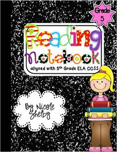 Teaching with Blonde Ambition: 5th Grade Reading Interactive Notebook is COMPLETE!!!