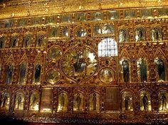 The Pala D'Oro altarpiece in St. Mark's Basilica, Venice.