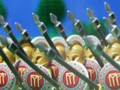 279 B.C. Lego Battle of Asculum, Greek Pyrrhic Victory over Rome