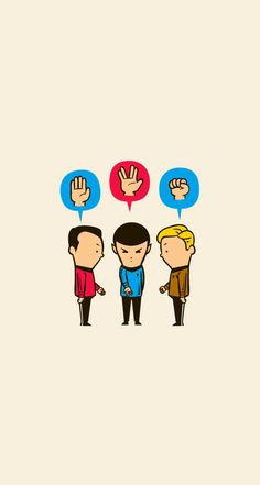 Star Trek Wallpaper. Rock Paper Spock