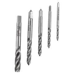 New M3 Titanium High Speed Steel HSS Screw Thread Metric Spiral Plug Tap Kit bit Tap Tapping Screw Thread
