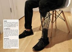 Exo Prosthetic Leg on ID Magazine