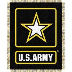 Northwest Co. US Army Woven Throw