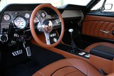A Mustang Coupe Rises From the Ashes – RacingJunk News 1966 Ford Mustang, Mustang Fastback, Mustang Cars, Ford Mustangs, Shelby Gt500, Custom Car Interior, Truck Interior, Classic Mustang, Ford Classic Cars