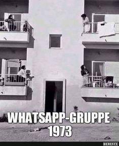 Whatsappgruppe 1973.. | Lustige Bilder, Sprüche, Witze, echt lustig