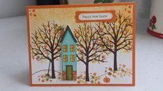 Stampin Up Holiday Home house warming card.