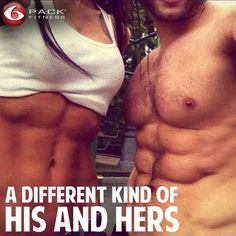 Bring new meaning to the phrase 'Power Couple'. Do you #travelfit with your loved one? #6pack #hishers