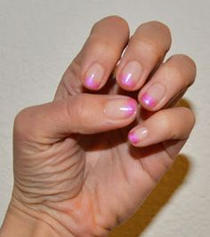 Simple ombre nails