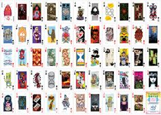 artists deck of playing cards design - - Yahoo Image Search Results Custom Poker Chips, Custom Playing Cards, Art Images, Images Photos, Custom Boxes, Deck Of Cards, Online Art, Illustration Art, Stationery