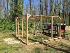 Post with 1822 views. Chicken Coop Rebuild and New Run Coops, Funny Jokes, Outdoor Structures, Entertaining, Chicken, Walls, Album, Hens, Husky Jokes