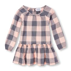 Check into the holidays with this checked twirler. Big Fashion, Little Prices