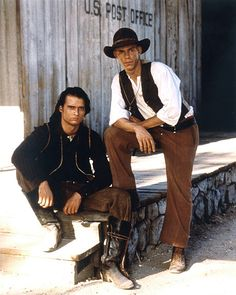 The Young Riders Cast, great TV show about the Pony Express