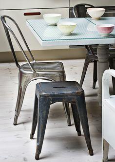 LOVE the aluminum chair.