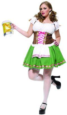 Disfraz de camarera alemana para mujer : Vegaoo, compra de Disfraces adultos. Disponible en www.vegaoo.es
