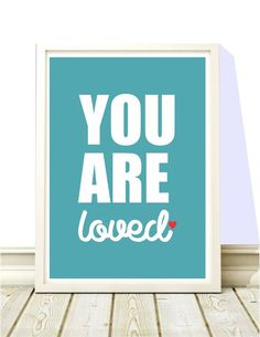 Confira aqui - Poster Imagine You are Loved Simple - Hey You