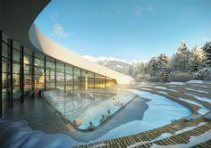Courchevel's new Aqua Centre #courchevel  Get a complimentary 3-day pass from Alpine Escape: http://www.alpine-escape.co.uk/ski-spa/