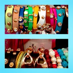 Thought our buckle bracelets were cute? Our fashion only gets better! Check out these fun bracelets, so much to choose from! Scope out your favs at our Wicker Park location!