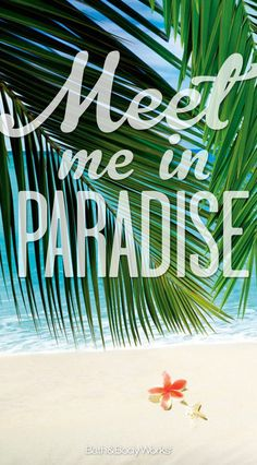 Let's get away! #PureParadise