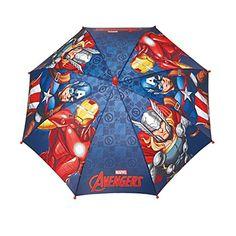 Paraguas antiviento Vengadores Avengers Marvel apertura seguridad 42cm - http://comprarparaguas.com/baratos/marvel/paraguas-antiviento-vengadores-avengers-marvel-apertura-seguridad-42cm/
