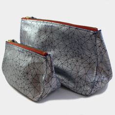 Image of Leather Zipper Pouches (more colors) // Tracey Tanner