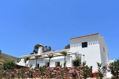Cortijo for sale in Tabernas, Almeria Spain. This truly stunning Finca is located close to the picturesque village of Tahal and just 20 minutes from the renowned Spain, Mansions, House Styles, Retirement, Plants, Bedrooms, Home Decor, Decoration Home, Manor Houses
