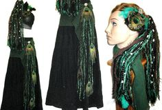 Tribal Fusion belly dance combination COSTUME by MagicTribalHair, €90.00
