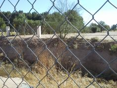 The second set of obstacles between Evergreen and Holy Hope cemeteries. Anna must lead Foster across the wash and through the fence. Tucson, Evergreen, The Fosters, Fence, Arizona, Two By Two, Anna, Clay, Travel
