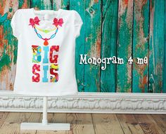 Hey, I found this really awesome Etsy listing at https://www.etsy.com/listing/191093056/big-sis-shirt-sibling-new-baby