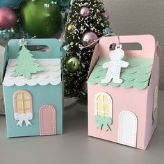Spellbinders December 2018 Christmas is in one week! Candy Crafts, Felt Crafts, Paper Crafts, Christmas Arts And Crafts, Christmas Crafts, Christmas Decorations, Picnic Box, New Home Cards, Rena