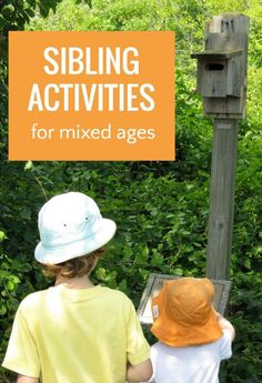 Fun sibling activities to stop fighting and promote bonding. Includes printable list.