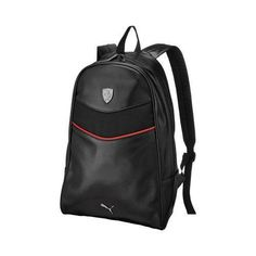 Puma Ferrari LS Backpack Black (One Size) Black Backpack be663f9cf7e54