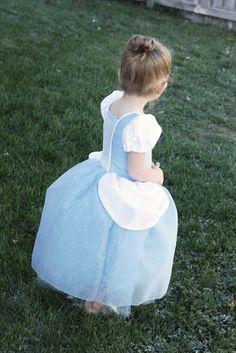 Homemade Toast: Cinderella Princess Dress - Costume Pattern and Tutorial