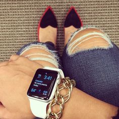 Fashion Insiders and Celebrities With the Apple Watch | StyleCaster