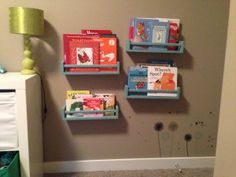 DIY Bookshelves for Baby or Kids Room | Mommy Connections Edmonton North