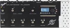 Fender Mustang Floor Multi-Effects Pedal: This guitar multieffects floor processor melds versatility and simplicity, offering you 12 amp models, 37 effects, 100 onboard presets and much more.